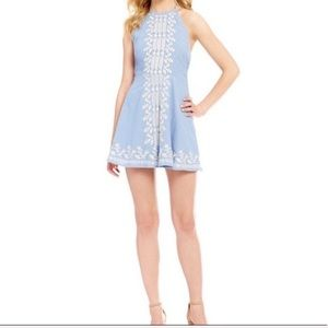 Chelsea & Violet Embroidered Dress Size XS NWT